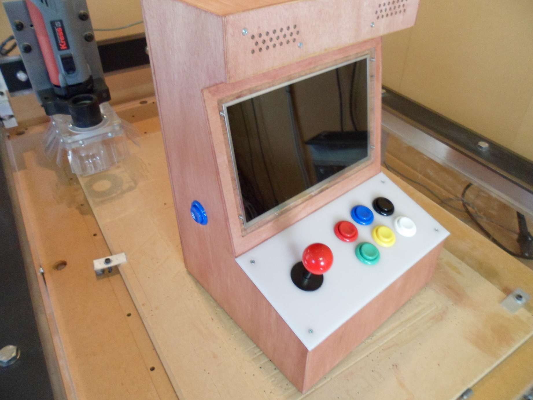Mini Arcade Machine Build Details